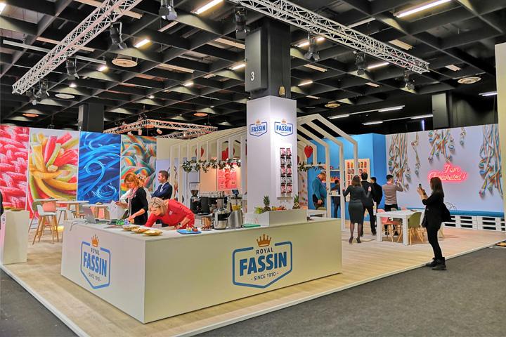 Royal Fassin at ISM trade fair